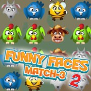 Funny Faces Match-3 2